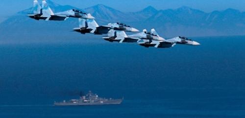 В Крыму по тревоге подняли морскую авиацию ЧФ