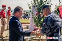 В Керчи торжественно открыли аллею Памяти