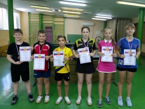 В Ялте состоялся турнир по настольному теннису