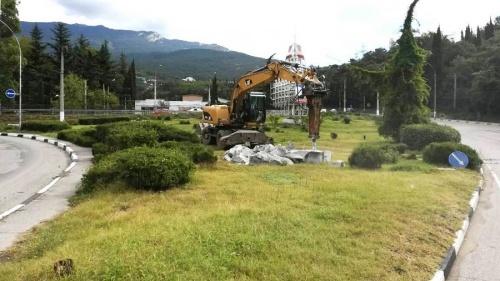 При въезде в Ялту может появиться фонтан