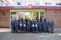 Крымские росгвардейцы провели соревнования по стрельбе, посвященные Дню вневедомственной охраны