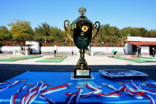 В Евпатории впервые прошел турнир на Кубок Главы города по городошному спорту