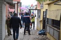 В Симферополе начали сносить торговые павильоны на Москольце