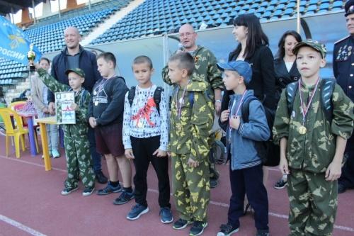 В Ялте прошла военизированная эстафета, приуроченная к Всероссийскому дню призывника