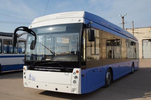 В Севастополь поставили еще 11 новых троллейбусов