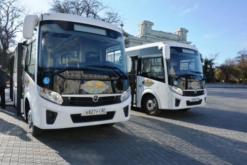 В Евпатории появятся новые пассажирские автобусы