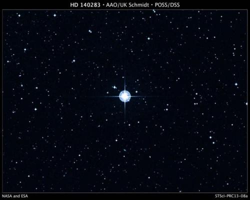 Обнаружена звезда возрастом 13,5 миллиардов лет