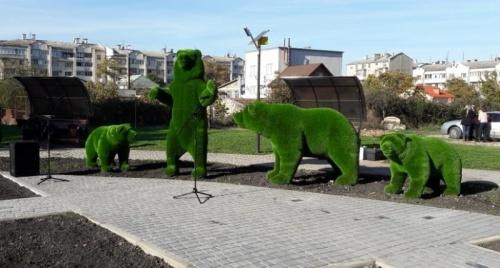 Зеленая зона на улице Пожарова в Севастополе станет сквером «Ленинских мишек»