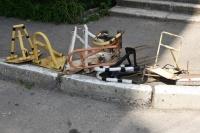 В Симферополе продолжат сносить стопперы и шлагбаумы