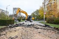 В Евпатории началась реконструкция улицы Демышева