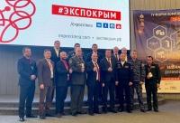 Сотрудники Росгвардии приняли участие в IV Форуме комплексной безопасности «Безопасность. Крым 2018»