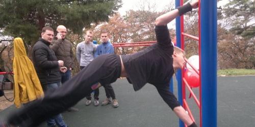 В Ялте открыли новую спортплощадку для сдачи норм ГТО