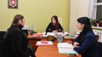 В Евпатории прошел общероссийский день приема граждан