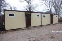В центре Керчи установили новые модульные туалеты