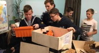 В Ялте юным морякам подарили лодку на солнечных батареях