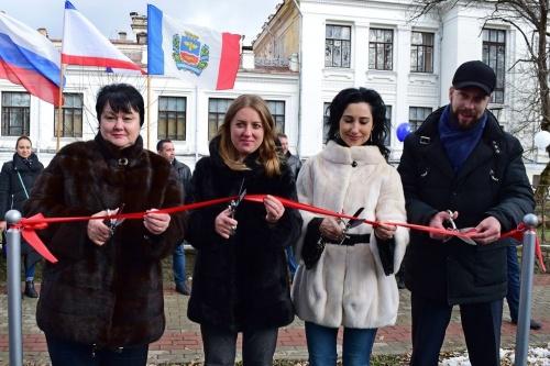 В Симферополе открыли новую площадку ГТО