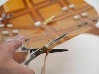 Создана беспроводная зарядка, которую можно обрезать по размеру гаджета