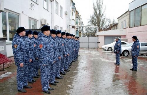 В подразделениях крымской Росгвардии прошли комплексные практические занятия по обеспечению безопасных условий военной службы