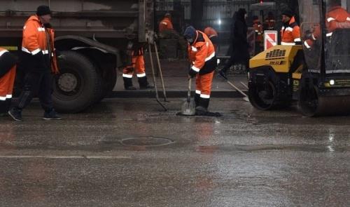В Симферополе в ближайшее время ямочный ремонт пройдет по двадцати пяти улицам