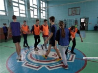 В керченском техникуме прошел турнир по волейболу
