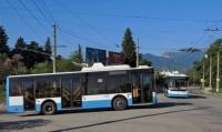 Троллейбусное кольцо в Массандре благоустроят до марта