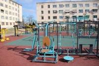 В Севастополе построили тренажерный зал под открытым небом