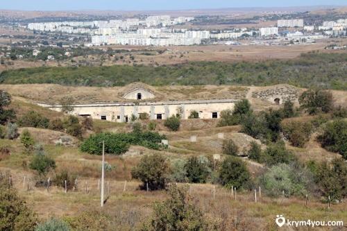 На территории крепости Керчь снесут две аварийные постройки