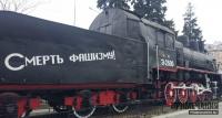 Легендарный бронепоезд «Железняков» на вокзале Севастополя превратили в свалку