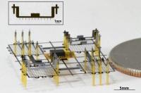 Летательный аппарат размером с монетку без движущихся частей