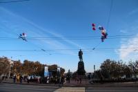 В центре Севастополя временно ограничат движение и стоянку транспорта