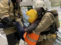 В аэропорту Симферополя прошли пожарно-тактические учения по тушению условного пожара