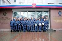 Сотрудники крымской вневедомственной охраны Росгвардии провели соревнования по стрельбе