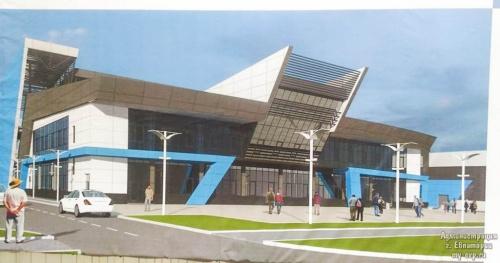 В Евпатории реконструкция Дворца спорта начнется в апреле