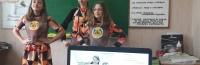 Школьница из Ялты представила свой проект формы для Российского движения школьников