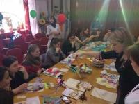 Во второй женской консультации Симферополя прошел предпраздничный мастер-класс по созданию детских оберегов