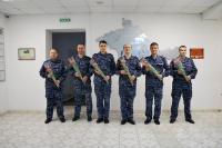 В преддверии Международного женского дня в крымском управлении вневедомственной охраны Росгвардии поздравили женщин