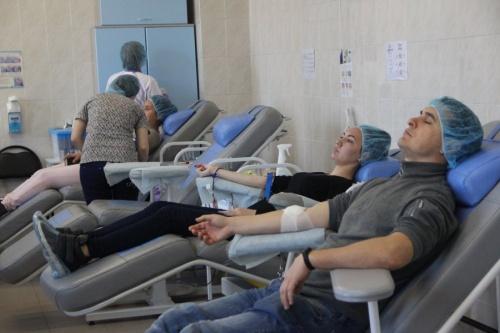 В Севастополе Почётным донорам крови увеличили ежегодную денежную выплату