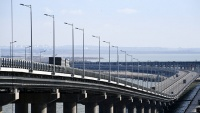 Трафик Крымского моста: за 10 месяцев проехали 4,5 млн машин и автобусов