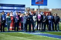 В Евпатории стартовала весенняя часть Национальной студенческой футбольной лиги
