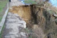 К концу 2020 года в Аршинцево планируют установить противооползневые сооружения