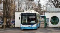 Симферопольский троллейбус №9 временно изменил маршрут