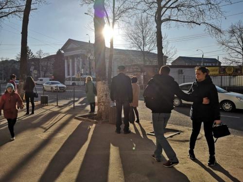 """""""Умная"""" остановка """"исчезла"""" из центра Симферополя"""
