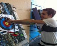 В Керчи прошли Открытые городские соревнования по стрельбе из лука «Крымская весна»