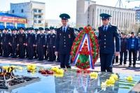 В Евпатории прошла военно-патриотическая акция «Беречь Отчизну — долг, честь!»