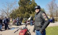 По Керчи прокатились мотоциклы и раритетные авто