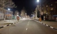 В Керчи по ночам наносят дорожную разметку