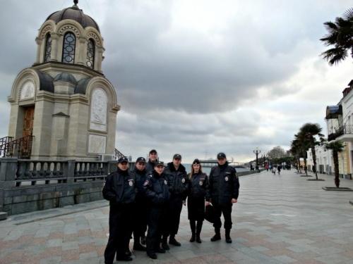 В Ялте объявлен набор в подразделение туристической полиции