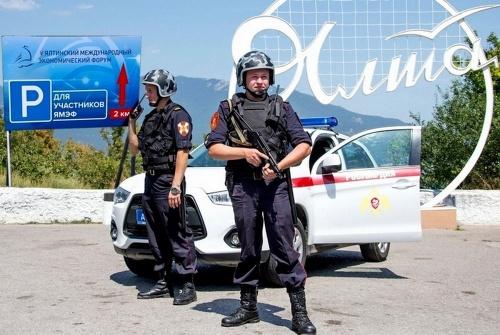 Росгвардия обеспечивает безопасность Ялтинского международного экономического форума