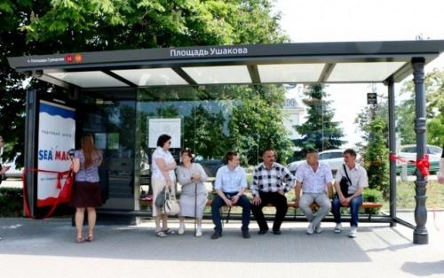 «Умные остановки» Севастополя научатся считать пассажиров и вызывать полицию