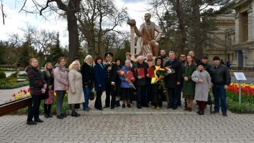 В Евпатории вручили награды Дувановским лауреатам